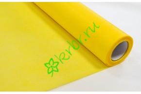 Фетр флористический желтый, м