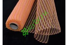 Сетка неомикс оранжево-желтая, метр