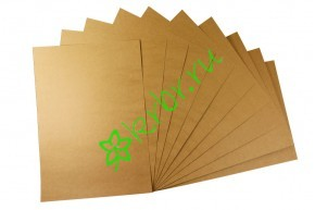 Крафт бумага в листах А3, 10 листов