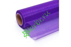 Органза фиолетовая, м