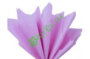 Бумага тишью Сиреневый, лист 50х66 см
