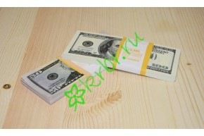 Денежные купюры доллары