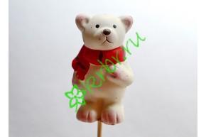Вставка Медвежонок кремовый, шт
