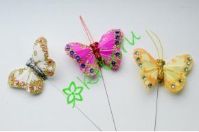 Бабочки на вставке, шт