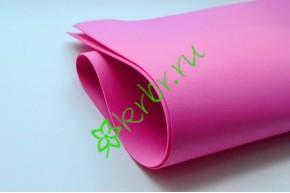Фоамиран розово-сиреневый №33, Корея