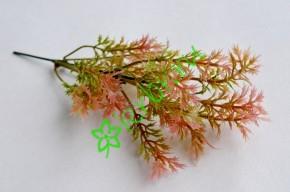 Ветка зелени Ягель бордово-розовая, шт
