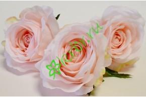 Бутон розы Нефертити малый нежно-розовый, шт