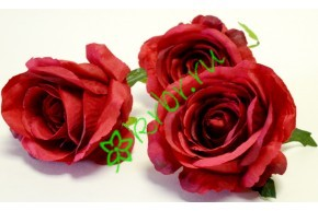 Бутон розы Нефертити малый бордо, шт