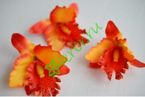Бутон Орхидеи Тропикана оранжевый, шт.