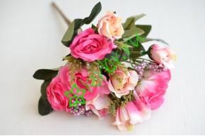 Букет розочек Лили розовый, шт