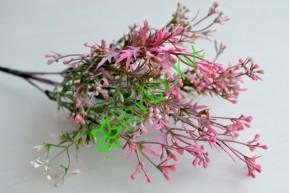 Ветка зелени Синтия розовая, шт