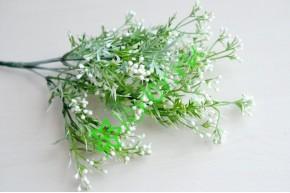 Ветка зелени Синтия белая, шт
