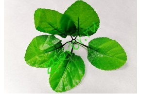 Лист декоративный Веер светло-зеленый, шт.