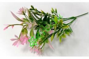 Ветка зелени с мелкоцветом Аделина розовая, шт