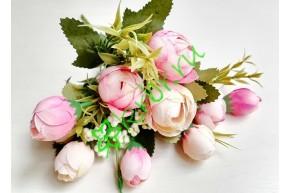 Камелия Анна в букете розовая, шт