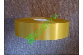 Лента полипропилен простая желтая, 5 м