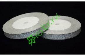 Лента парча серебро 10 мм, 1 м
