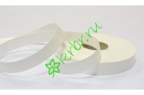 Лента полипропилен простая белая, 5 м