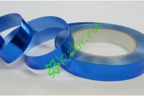 Лента полипропилен металлик синяя, 3 м