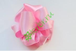 Бант-шар атласный, розовый