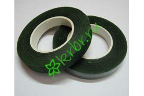 Тейп лента флористическая темно-зеленая