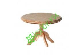 Стол обеденный круглый, дерево