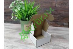 Самосборная коробка Белая 10х10х5 см, шт