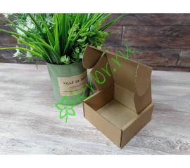 Самосборная коробочка Крафт 10х10х5 см, шт
