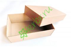 Подарочная коробка Крафт кр /дно 12х20х7 см, шт