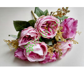 Букет пионов Маунтин розово-сиреневый, шт
