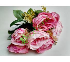 Букет пионов Маунтин розовый, шт