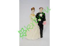 Свадебная фигурка керамическая