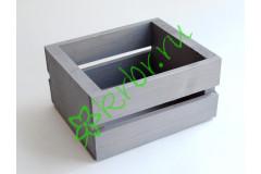 Ящик для цветов и подарков Dallas, серый
