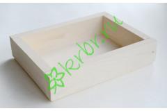 Ящик декоративный универсальный 15х20х4,5 см, белый