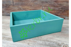 Ящик бокс Утиное яйцо, 25х25х7,5 см