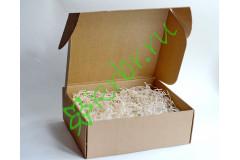 Подарочная коробка крафт  33х21х10 см, шт