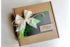 Подарочная коробка 18х18х6 см Бант, шт