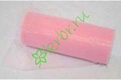Фатин розовый, м