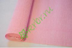 Гофрированная бумага 549, светло-розовый
