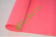 Гофрированная бумага 554, розовый