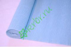 Гофрированная бумага 556, голубой