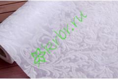 Фетр ламинированный 3D Марсель белый, м
