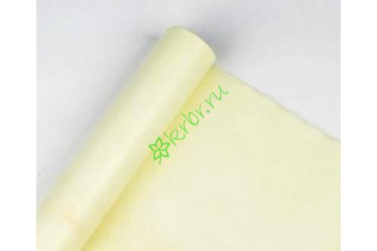Фетр флористический пастель лимон, м