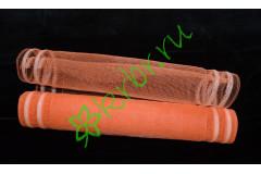 Сетка каемка оранжевая, метр