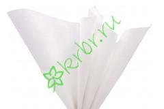 Бумага тишью Белый, лист 50х66 см