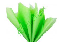 Бумага тишью Зеленое яблоко, лист 50х66 см