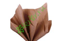 Бумага тишью Шоколад, лист 50х66 см