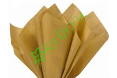 Бумага тишью Золото, лист 50х66 см