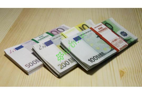 Денежные купюры евро
