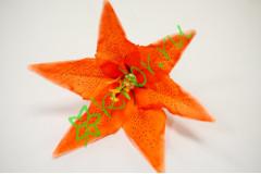 Бутон лилии Танго оранжевый, шт.
